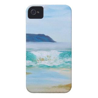 Breaking Wave by KatGibsonArt - love the beach! iPhone 4 Case