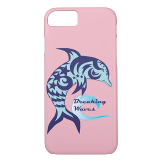Breaking Waves Dolphin Phone Case