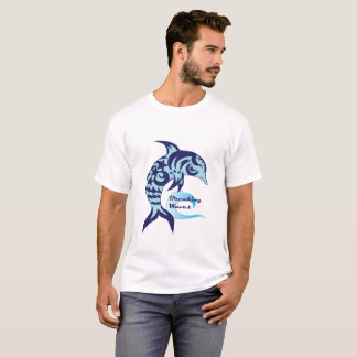 Breaking Waves Dolphin Tee