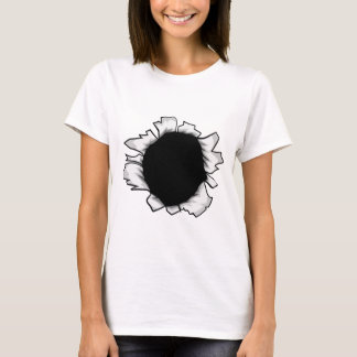 Breakthrough Paper Ripped Hole T-Shirt