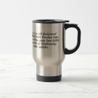 Breakup quote travel mug