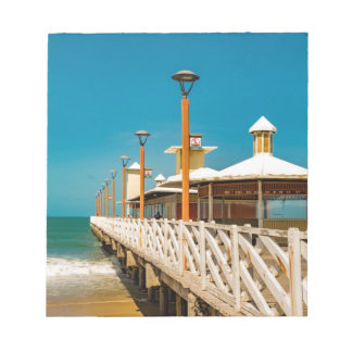 Breakwater Walkway at Fortaleza Beach Notepad