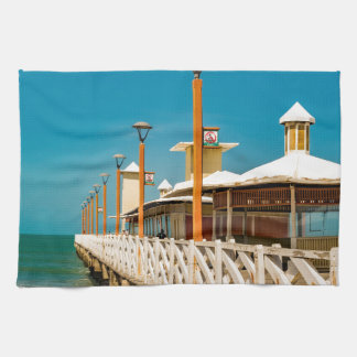 Breakwater Walkway at Fortaleza Beach Towels