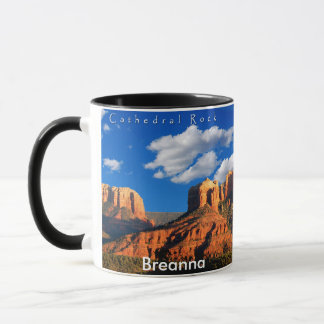 Breanna on Cathedral Rock and Courthouse Mug