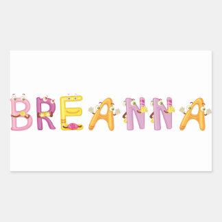 Breanna Sticker