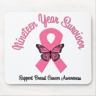 Breast Cancer 19 Year Survivor Mouse Pads