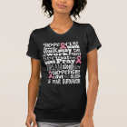 Breast Cancer 5 year Survivor Ribbon T-shirt