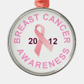 Breast Cancer Awareness 2012 Christmas Ornament