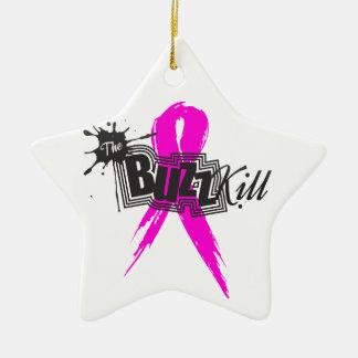 Breast Cancer Awareness 2013 Ceramic Star Ornament