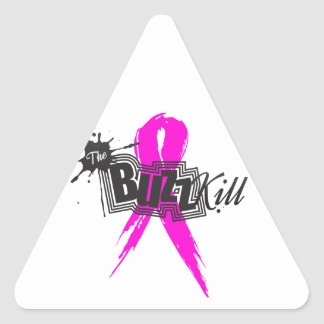 Breast Cancer Awareness 2013 Triangle Sticker