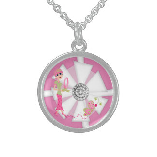 Breast Cancer Awareness 2 Necklace