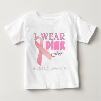 Breast cancer awareness add name template baby T-Shirt