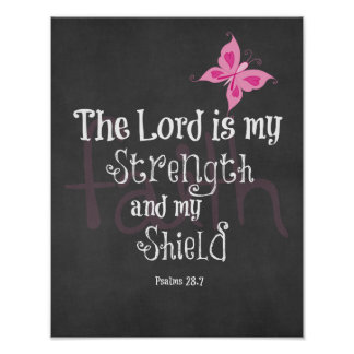 Breast Cancer Awareness Bible Verse Posters