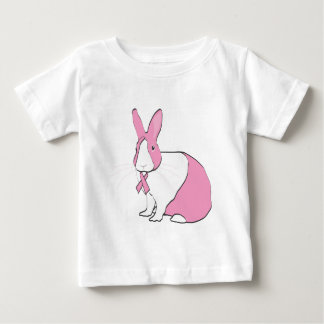 BREAST CANCER AWARENESS BUNNY BABY T-Shirt