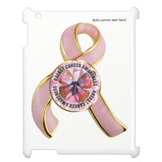 Breast Cancer Awareness Butterfly Case For The iPad 2 3 4