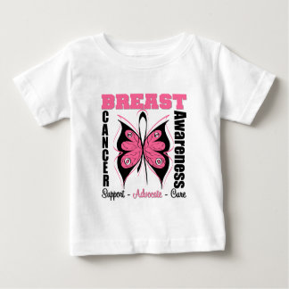Breast Cancer Awareness Butterfly Shirts