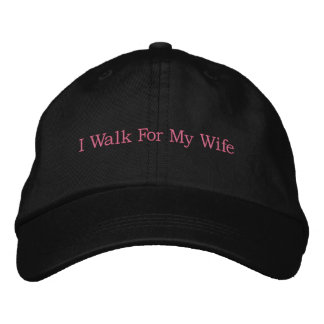 Breast Cancer Awareness Cap Embroidered Baseball Cap