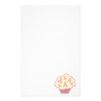 Breast Cancer Awareness Cupcake Stationery