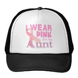 Breast Cancer Awareness for Aunt Trucker Hat