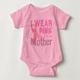 Breast cancer Awareness for Mother Baby Bodysuit