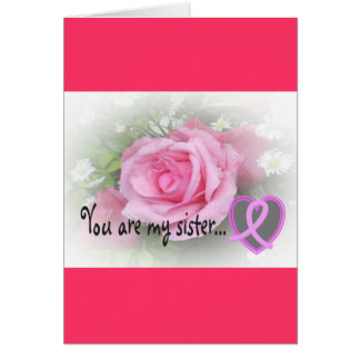 Breast Cancer Awareness Gifts Card