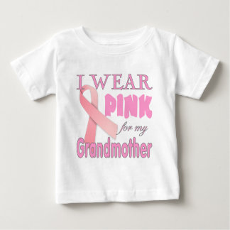 breast cancer awareness grandmother baby T-Shirt