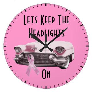 Breast Cancer Awareness Large Clock