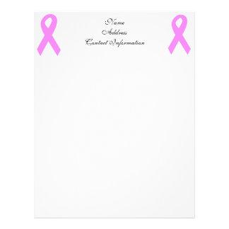 Breast Cancer Awareness Letterhead