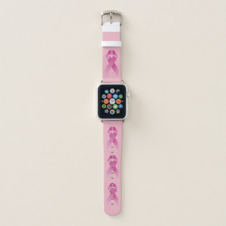 Breast Cancer Awareness Month October Pink Apple Watch Band