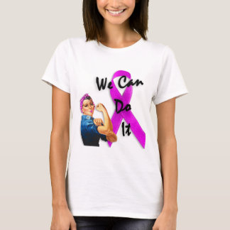 Breast Cancer Awareness Month, Rosie the Riveter T-Shirt