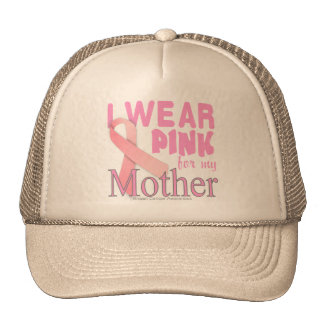 breast cancer awareness mother trucker hat