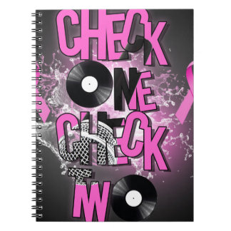 Breast Cancer Awareness Notebook