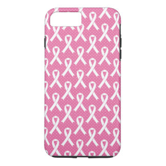BREAST CANCER AWARENESS  Pink Ribbon Pattern Case-Mate iPhone Case