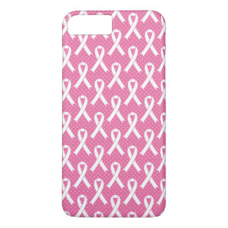 BREAST CANCER AWARENESS  Pink Ribbon Pattern iPhone 8 Plus/7 Plus Case