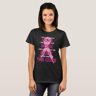 Breast Cancer Awareness Pink Ribbon T-Shirt