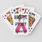 Breast Cancer Awareness Playing Cards