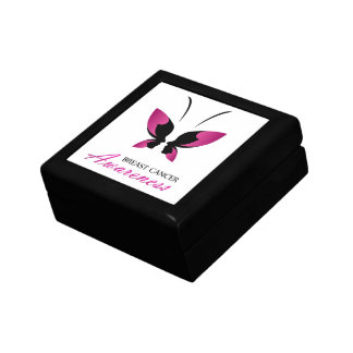Breast cancer awareness support gift box