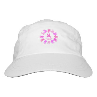 Breast cancer awareness support hat