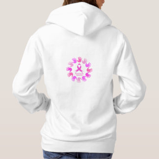 Breast cancer awareness support hoodie