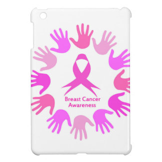 Breast cancer awareness support iPad mini cover