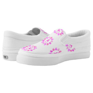 Breast cancer awareness support Slip-On sneakers