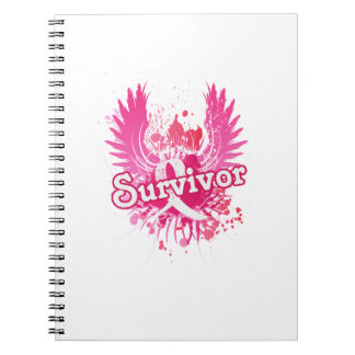 Breast Cancer Awareness Survivor Gifts Notebooks