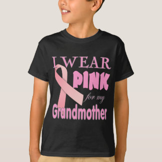 Breast cancer Awareness T Shirts for Grandmother