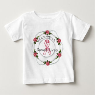 BREAST CANCER AWARENESS - think pink!! Baby T-Shirt