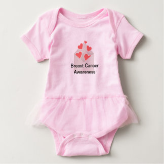 Breast Cancer Awareness Tutu Baby Bodysuit