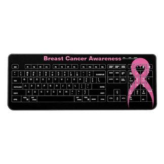 Breast Cancer Awareness Wireless Keyboard