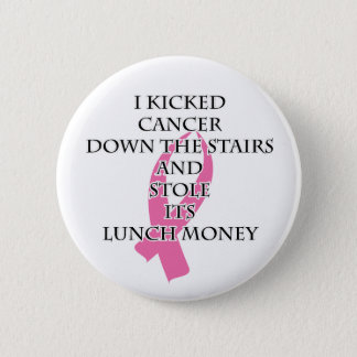 Breast Cancer Bully 2 Inch Round Button