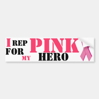 Breast Cancer bumber sticker Bumper Sticker