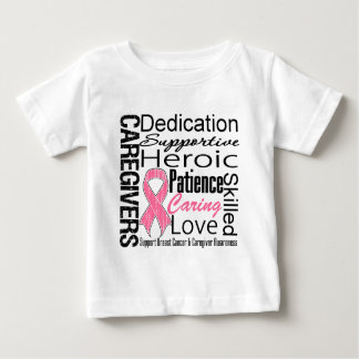 Breast Cancer Caregivers Collage Tee Shirts