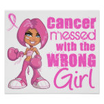 Breast Cancer Combat Girl 1